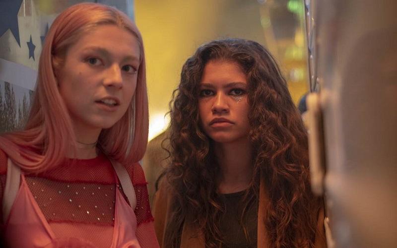 Rue e Jules em Euphoria da HBO. (Foto: Divulgação)