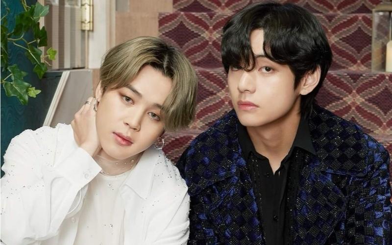 Jimin e V, do BTS, lançam duas músicas como presentes de Natal para os fãs! - Febre Teen