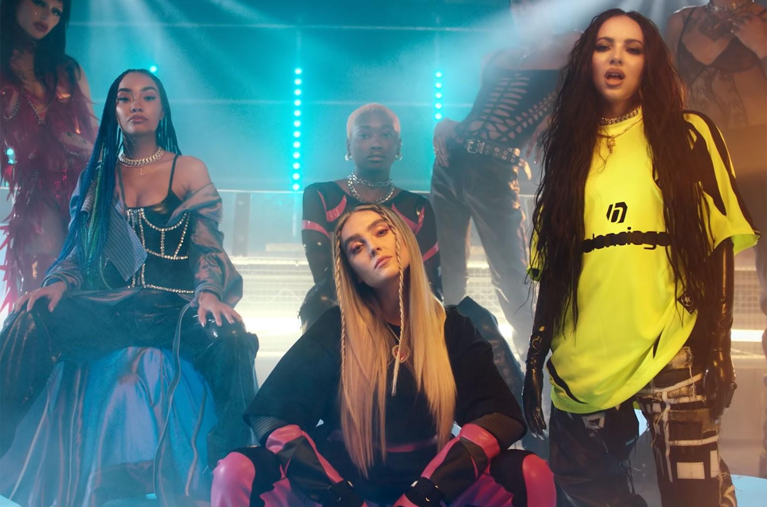 Little Mix clipe de 'Heartbreak Anthem'