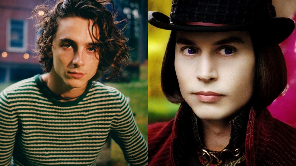 Timothée Chalamet fará Willy Wonka em nova adaptação. Vem ver os detalhes!