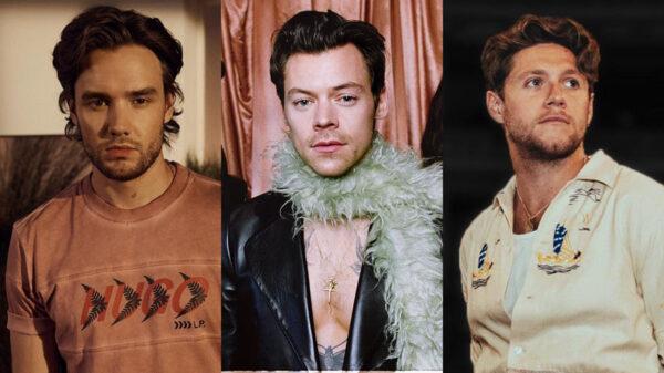 Liam Payne e Niall Horan apoiando Harry Styles vai te deixar com o coração quentinho