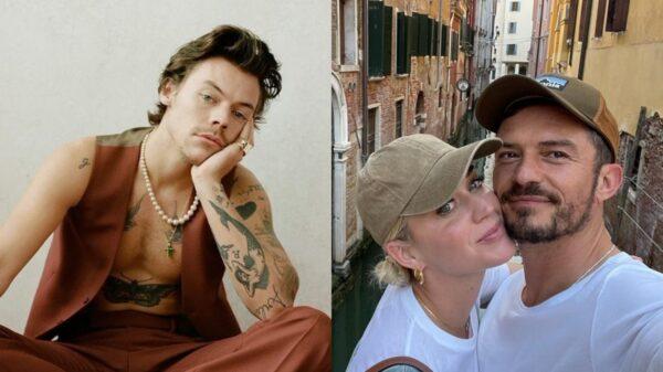 Harry Styles e Katy Perry se encontram e passeiam juntos pela Itália