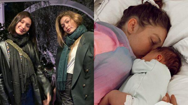Gigi Hadid compartilha foto fofíssima de Bella Hadid com sobrinha, Khai