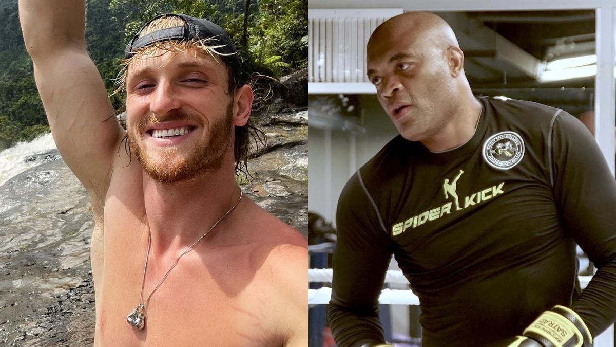Logan Paul não acredita que Anderson Silva quer lutar contra ele