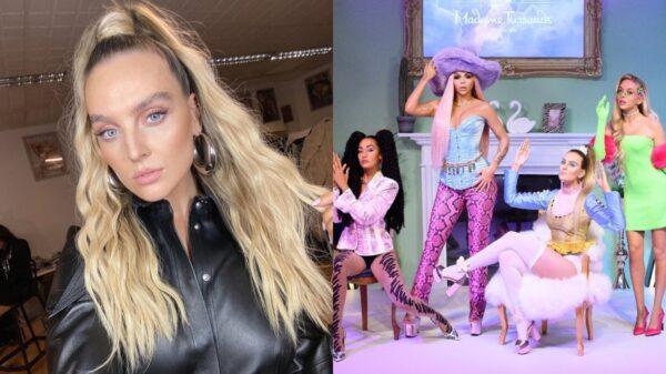 Perrie Edwards mostra bastidores da criação da estátua de cera do Little Mix