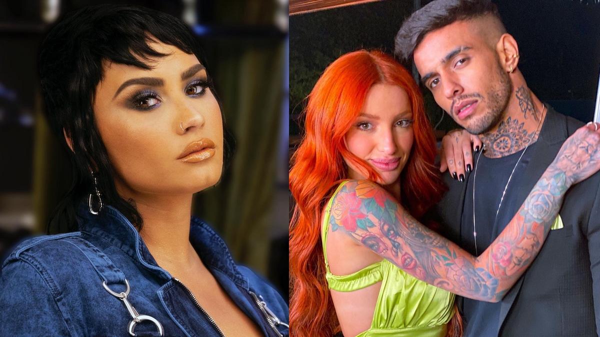 Demi Lovato recebe convite ousado de casal do reality 'Brincando com Fogo Brasil'