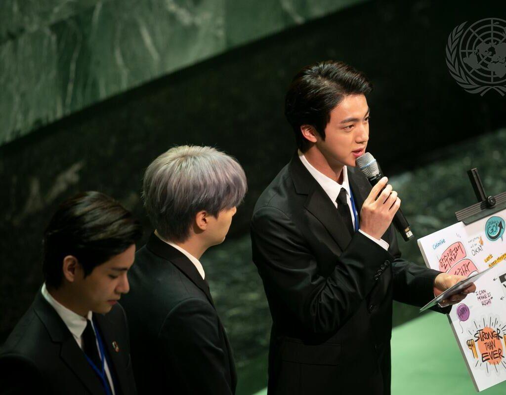"""""""A geração que acolheu mudanças"""": BTS faz discurso emocionante sobre a juventude, na ONU"""