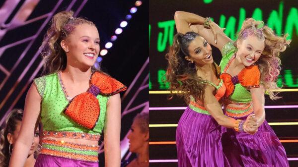 JoJo Siwa faz estreia histórica no 'Dancing with the Stars' com parceira do mesmo sexo; vem ver sua primeira apresentação
