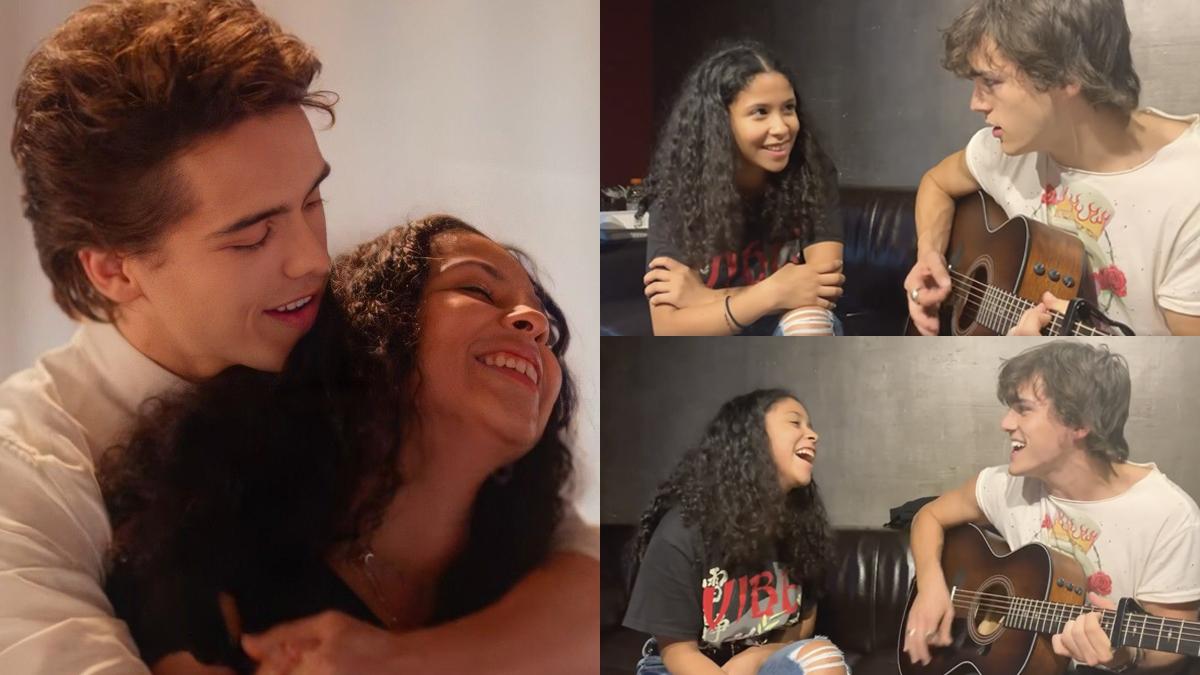 Charlie Gillespie comemora 1 ano de 'Julie and the Phantoms' com vídeo cantando primeira versão de 'Perfect Harmony' com Madison Reyes