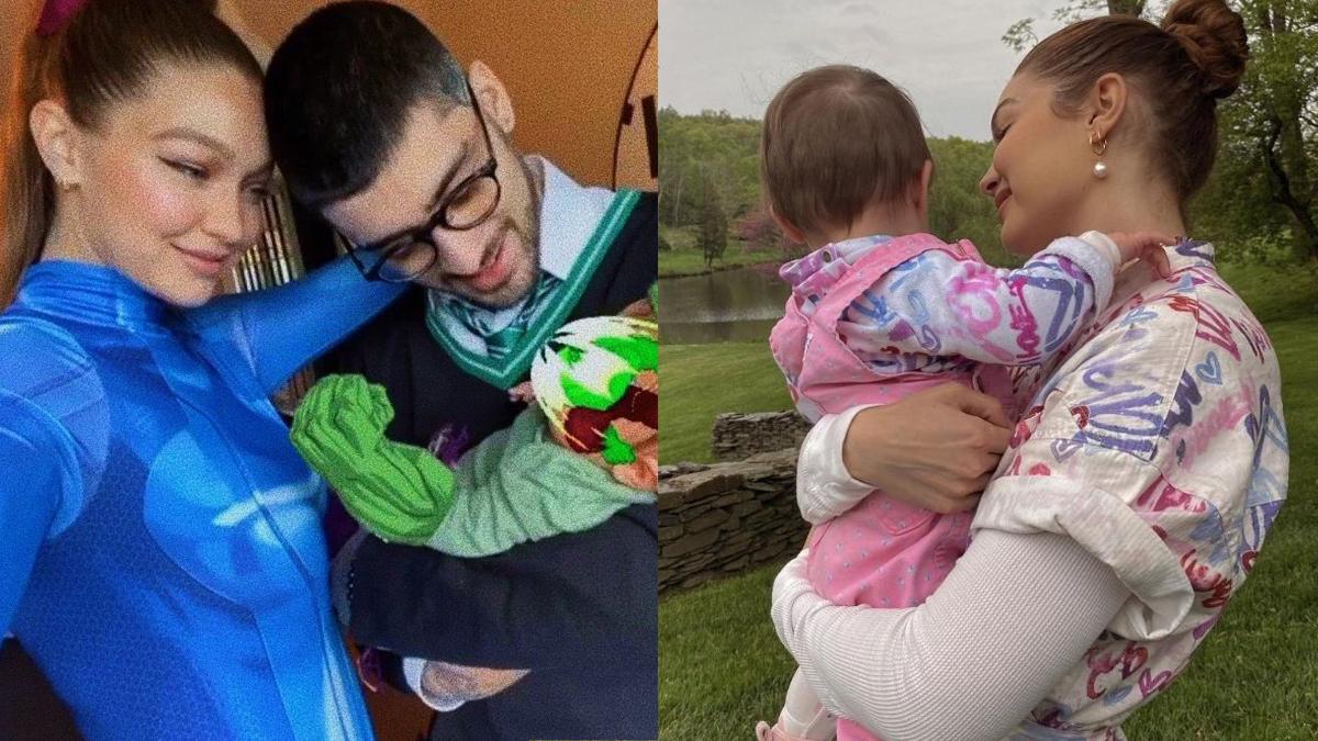 Mãe de Gigi Hadid entrega tudo com novas fotos raras e super fofas de Khai, filha da modelo com Zayn Malik