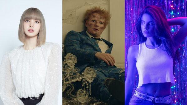 Ed Sheeran, debut solo da Lisa do BLACKPINK, Giulia Be e mais; confira os novos lançamentos 10/09
