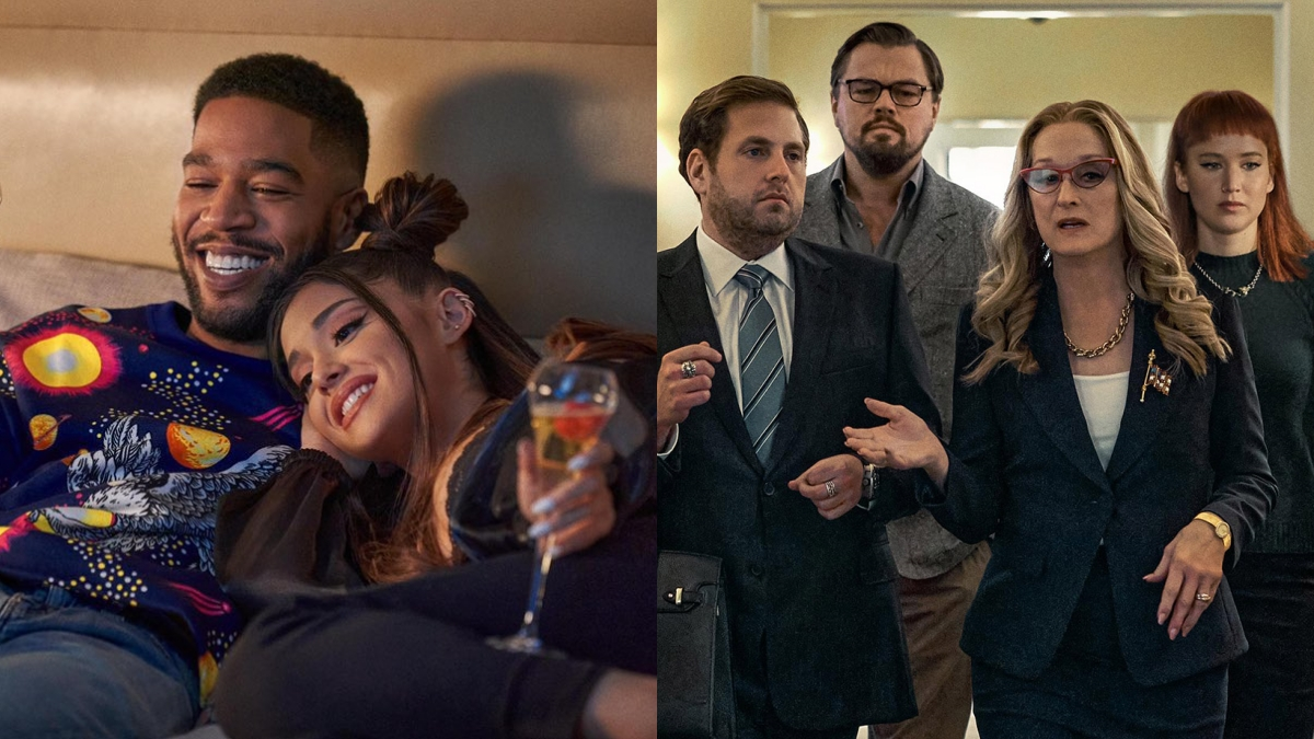 Não Olhe Para Cima: Confira cena inédita do novo filme com Ariana Grande, Jennifer Lawrence e Leonardo DiCaprio