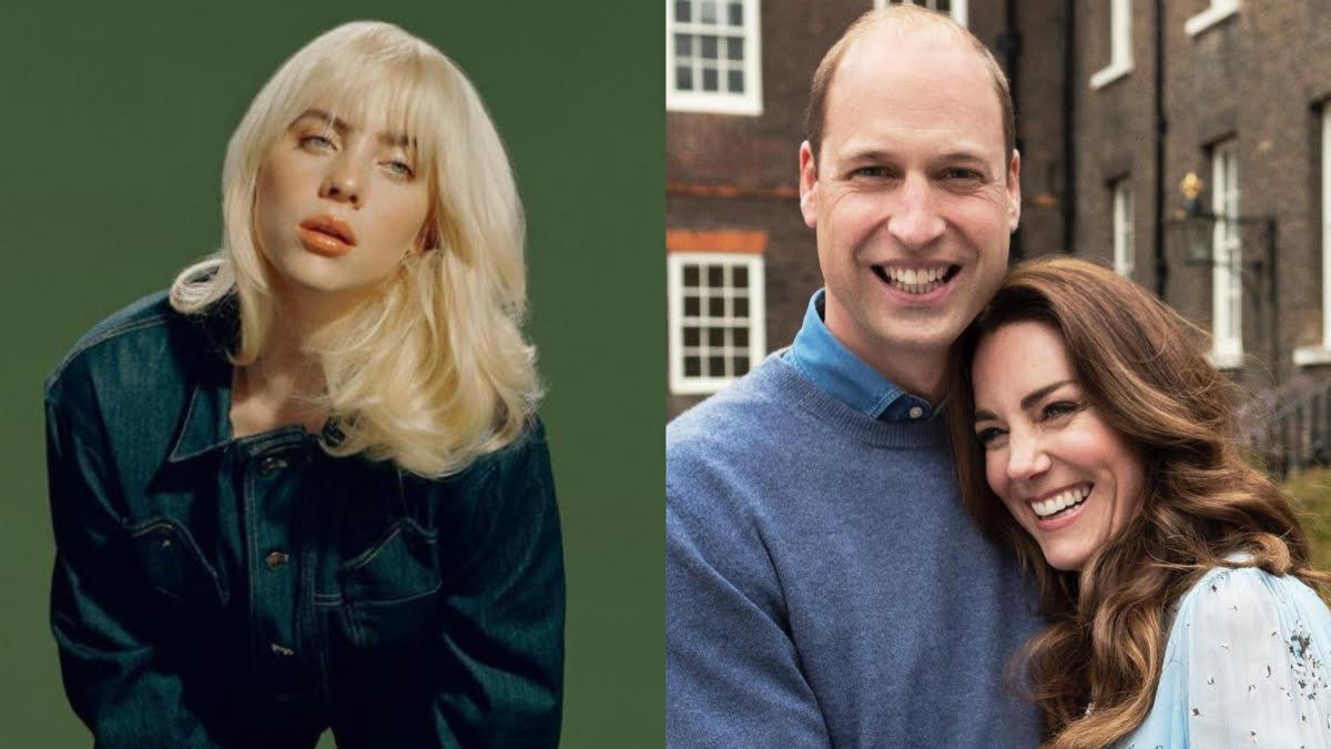 Billie Eilish revela como foi seu encontro com Príncipe William e Kate Middleton